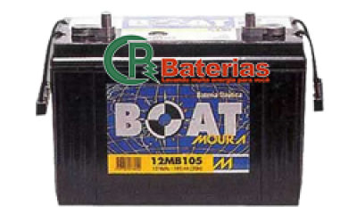 Bateria Náutica Moura Boat 105ah 12MB105