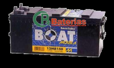 Bateria Náutica Moura Boat 12V 150ah 12MB150