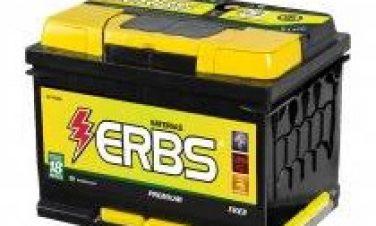 Bateria Automotiva ERBS 60Ah (livre de manutenção)