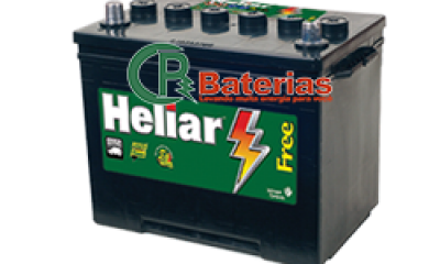 Bateria Automotiva Heliar 12V 75Ah HL75LD/HL75LE