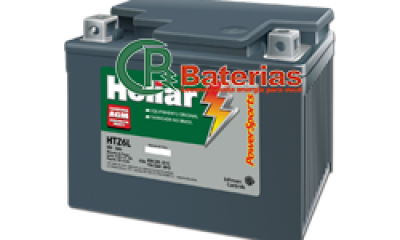 Bateria p/ Moto Heliar PowerSports HTZ-CL