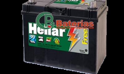 Bateria Automotiva Heliar 12V 47Ah SL47JD/47JE