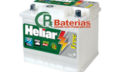 Bateria Automotiva Heliar 12V 48Ah SL48BD/BE