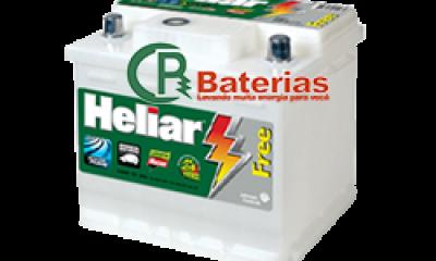 Bateria Automotiva Heliar 12V 52Ah SL52GD