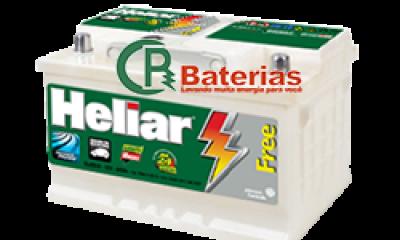 Bateria Automotiva Heliar 12V 70Ah SL70ND/SL70NE