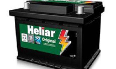 Bateria Automotiva Heliar 12V 60Ah SL60DD/SL60DE