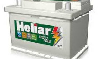 Bateria Automotiva Heliar 12V 60Ah (Super Free)