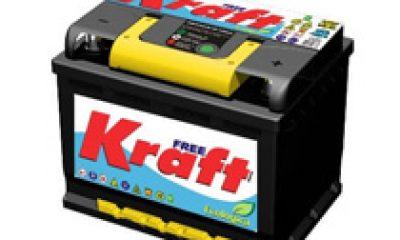 Bateria Automotiva Kraft 50Ah (livre de manutenção)
